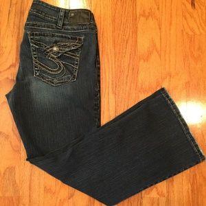 Silver Jeans Suki Surplus Women 34 x 30 Boot cut